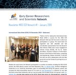 WDS ECR Network Newsletter #1 January 2019