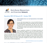 WDS ECR Network Newsletter #3 October 2019
