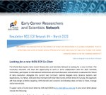 WDS ECR Network Newsletter #4 March 2020