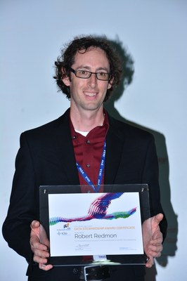 Dr Robert Redmon, winner of the 2013 Award