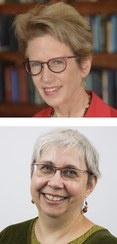 Christine Borgman (top) and Andrea Scharnhorst (bottom)