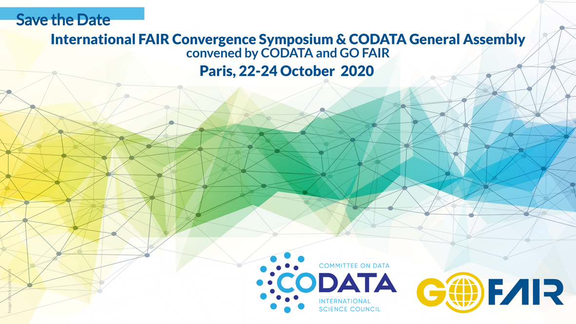 International FAIR Convergence Symposium & CODATA General Assembly