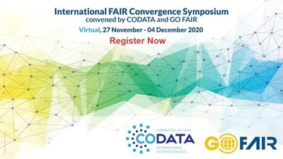 International FAIR Convergence Symposium convened by CODATA and GO FAIR: change of format and dates