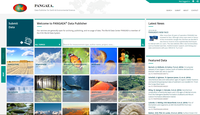 PANGAEA Launches New Website and Functionalities