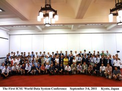 First ICSU World Data System Conference: 'Global Data for Global Science'