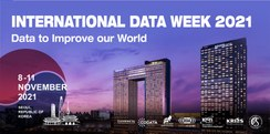 Register Now: Webinars on Introducing International Data Week 2021