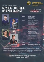Webinar – COVID-19: The Role of Open Science
