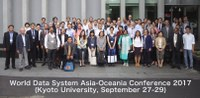 World Data System Asia–Oceania Conference 2017
