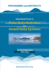 Proceedings of International Forum on 'Polar Data Activities in Global data Systems'