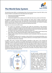 The World Data System – One-pager (February 2019)